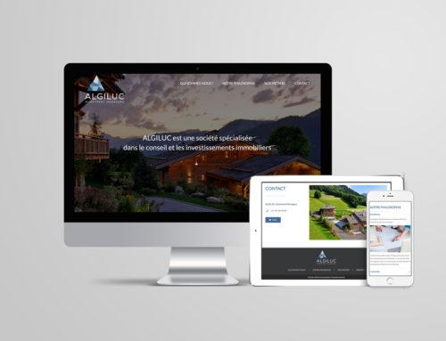 Algiluc – Site Web