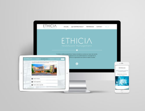 Ethicia Healthcare Management – Site Web