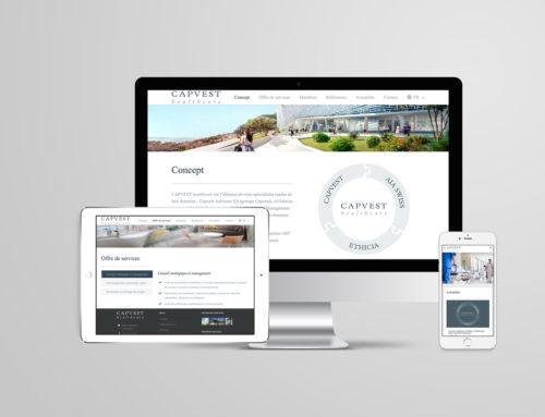 Capvest Healthcare – Site web