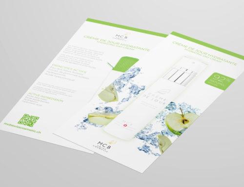 MCB Swiss Cosmetic – Flyer